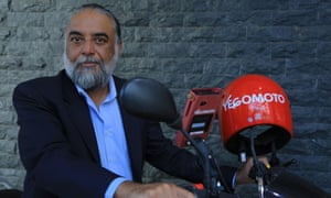 Yegomoto CEO and MD, Karanvir Singh, Yegomoto is a newly launched Rwanda's motorcycle transport company [YegoMoto] that only uses electronic payment system