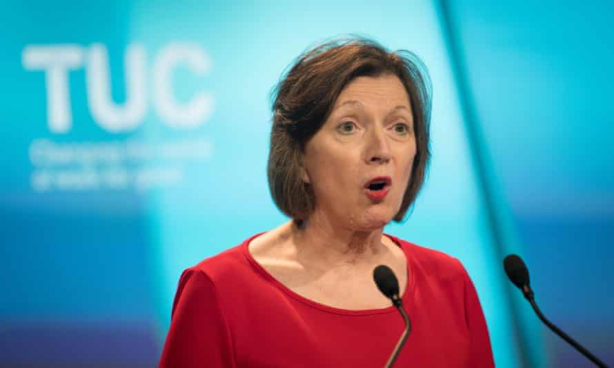 General secretary of the TUC, Frances O'Grady, criticised the government.
