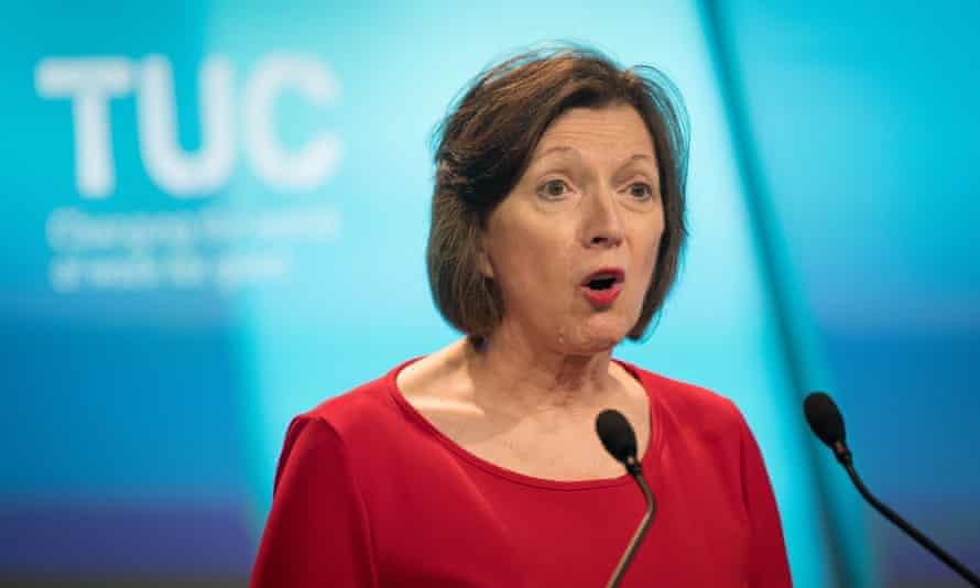 Frances O'Grady, the TUC's general secretary.