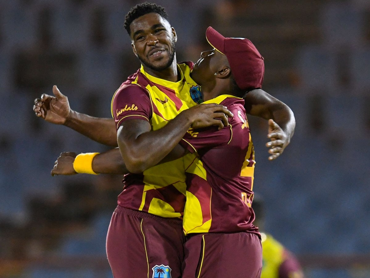 West Indies Beat Australia In First T20 International As It Happened Sport The Guardian