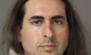 Jarrod Ramos, the suspect in the Maryland shooting, in his booking photo.