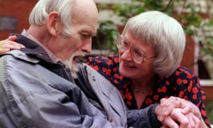 The Pointons as featured in the 1999 documentary by Paul Watson, Malcolm and Barbara: A Love Story. Watson made a follow-up film on the couple in 2007, aiming to show the 'full arc' of dementia.