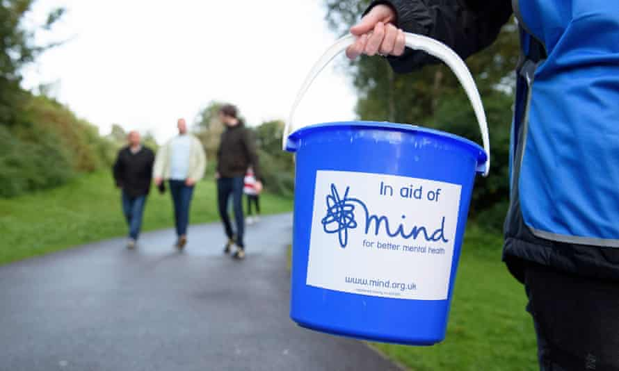 Volunteers collecting for Mind. The charity called the cancelled CAMHS appointments deeply worrying.