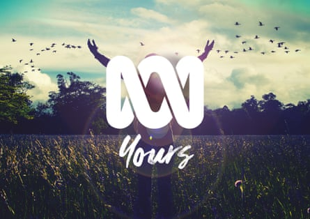 An image from ABC's new branding campaign. 'ABC Yours'.