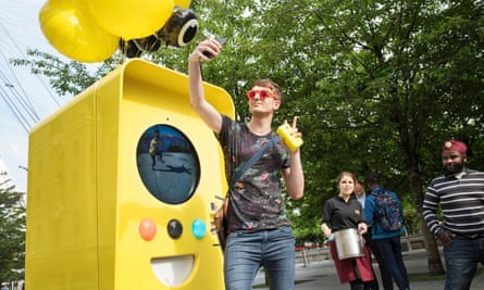 Snapchat glasses launch in London.