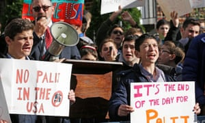 Protest over Palij in New York