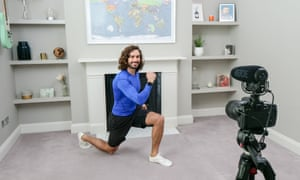 Joe Wicks has taught the nation DIY keep-fit routines