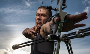 Archery: 'I let the bow be the channel to allow my feelings to express myself.'
