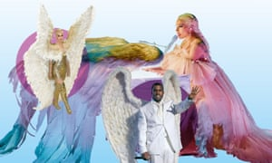 Katy Perry, Kanye West and Lady Gaga