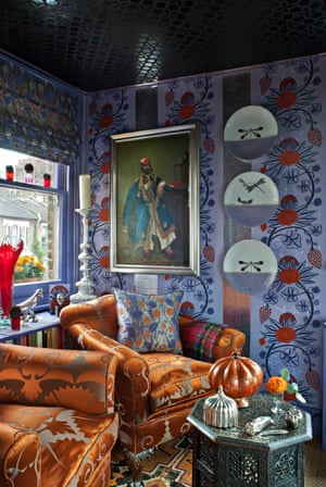 A vibrant palatial pad … Henry Wilson's Chelsea home.