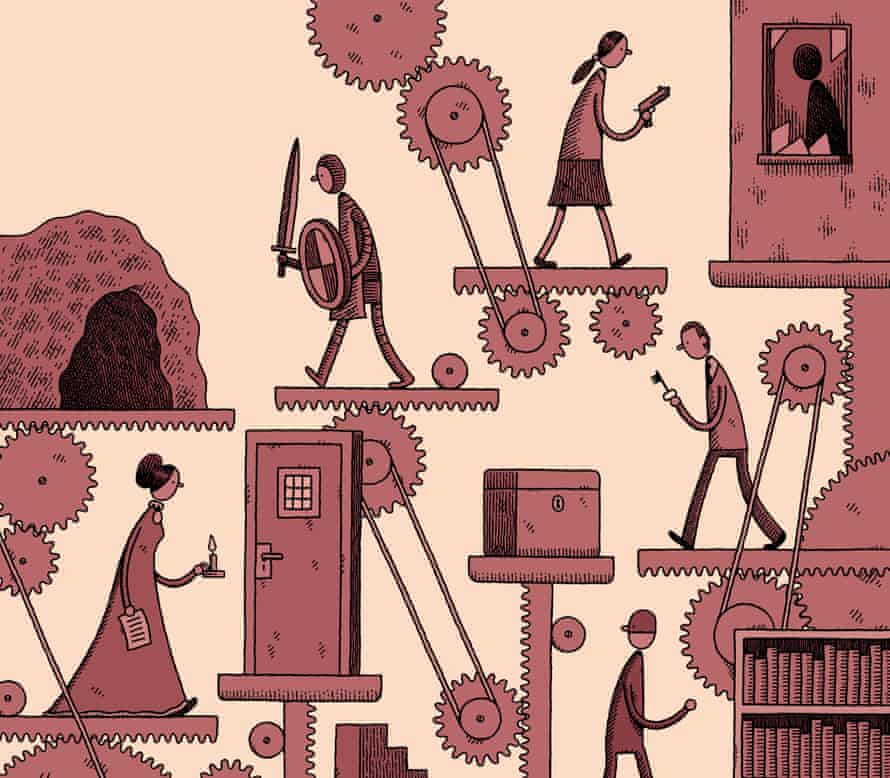Illustration by Tom Gauld