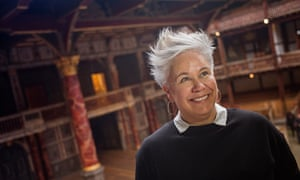 Emma Rice wants Globe audiences to 'cheer and whoop and smell and feel the spit of actors on our faces'.