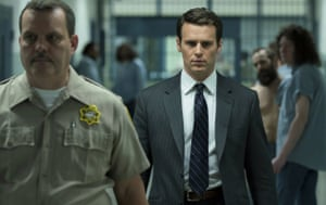 Jonathan Groff in a scene from Mindhunter