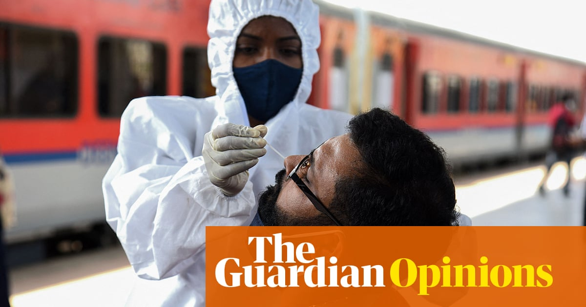 India's suffering isn't just the fault of a new Covid variant