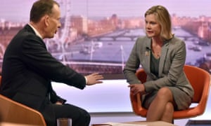 Justine Greening on The Andrew Marr Show