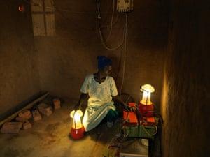 Edina Livitiko Solar Mamas Project in Malawi