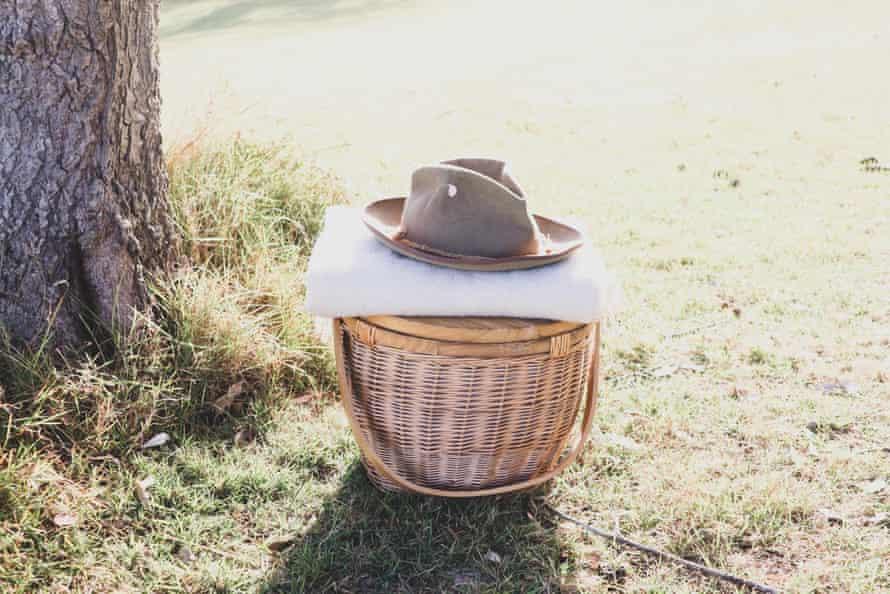 Jason Grant's photograph of picnic basket
