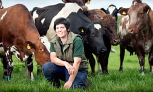 Abi Reader on her farm in south Wales