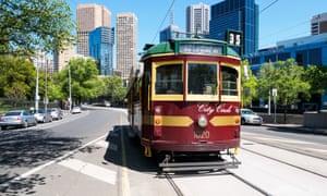 Thành phố xe điện miễn phí, Melbourne
