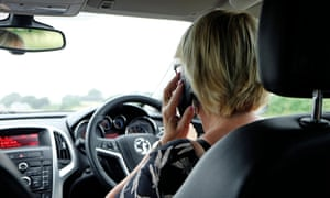 Next year drivers will face harsher penalties when caught using handheld mobile devices.