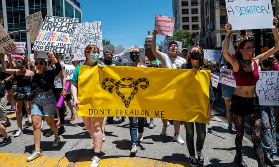 Thousands of protesters rallied in May against the restrictive new abortion law in Austin, the state capital.