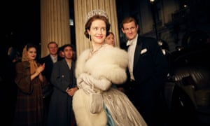 Claire Foy as Elizabeth II in Netflix's first original UK production, The Crown