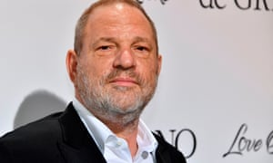 Harvey Weinstein at the Cannes film festival in 2017.