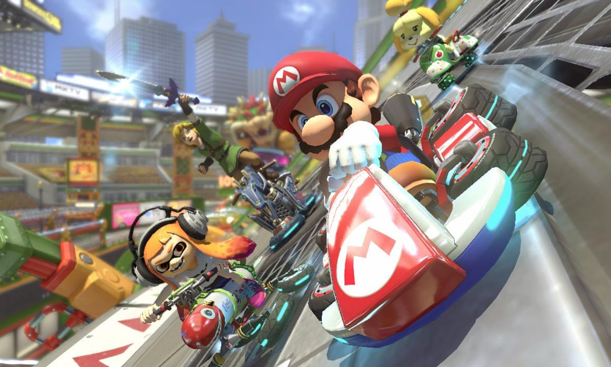 Mario Kart 8 Deluxe Review The Best Most Versatile Game In The Series Mario Kart The Guardian
