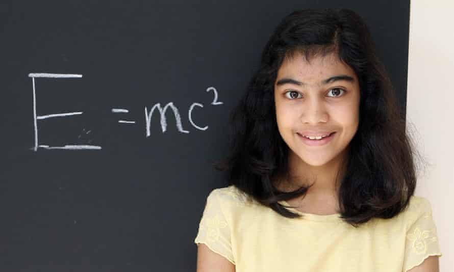 Lydia Sebastian has outwitted Albert Einstein and Stephen Hawking in an IQ test she described as easy.