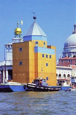 Teatro del Mondo, Venice.