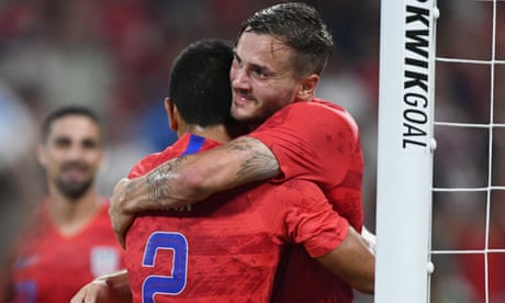 Morris scores first international goal in two years as USA draw with Uruguay