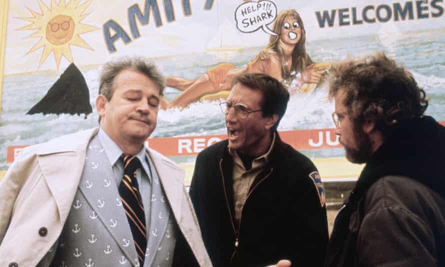 Murray Hamilton as Mayor Larry Vaughn in the film Jaws.
