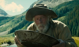 Tom Waits pans for gold in the The Ballad of Buster Scruggs.