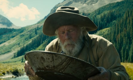 Tom Waits as a gold prospector in The Ballad of Buster Scruggs.