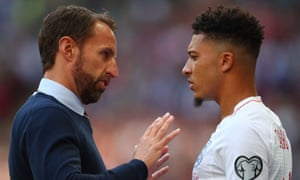 Gareth Southgate is set to give Jadon Sancho another international opportunity against Kosovo.