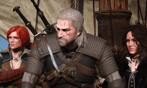Monster-hunting outcast … The Witcher 3.