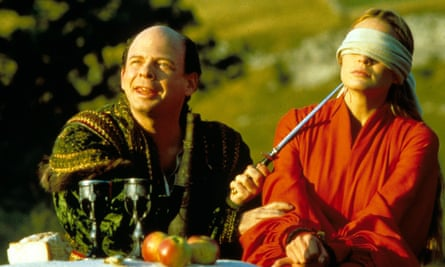 Wallace Shawn treats Robin Wright Penn in The Princess Bride much like Republican Party leaders are treating the Earth's climate.