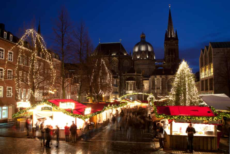 Christmas market, Aachen
