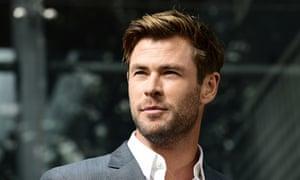 Thor star Chris Hemsworth