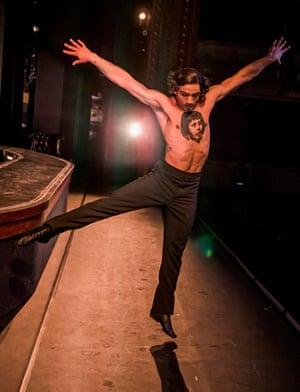 Dancer David Stirrup.