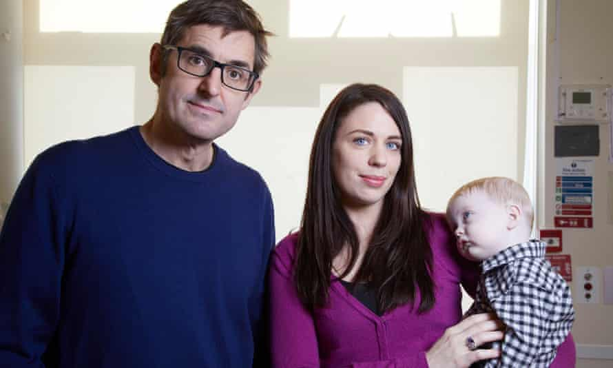 Louis Theroux with Catherine and her son, Jake