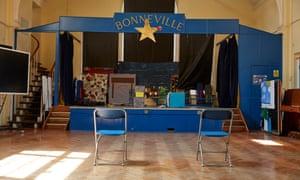 Bonneville school hall.