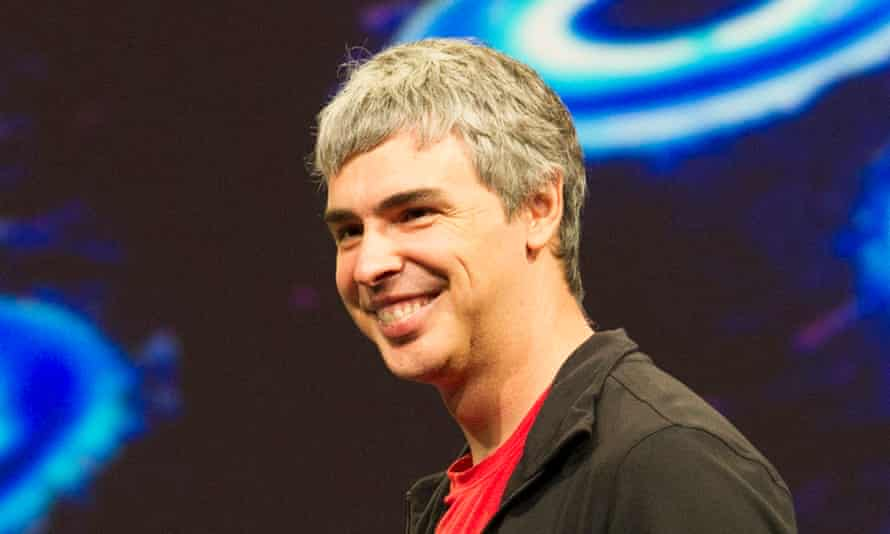 Google co-founder Larry Page.