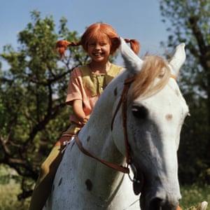Inger Nilsson as Pippi in the 1969 series Pippi Longstocking