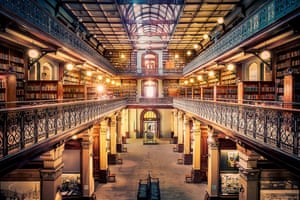 The interior of the historic Mortlock Library, in the State Library of South Australia, Adelaide