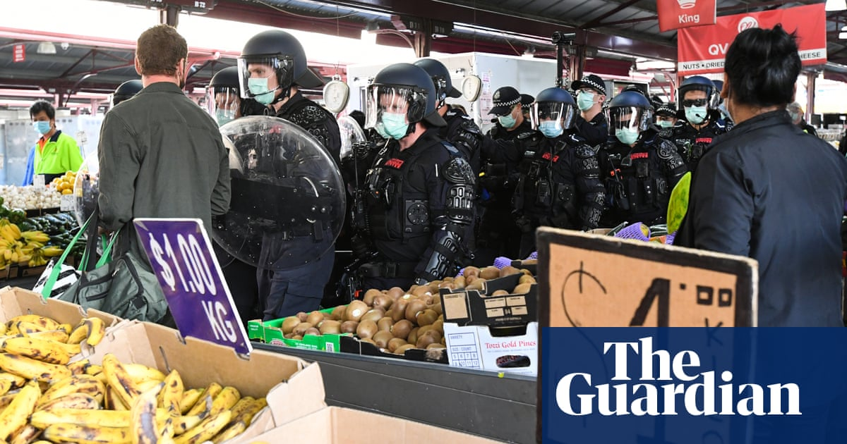 Police arrest 74 people at Melbourne coronavirus anti-lockdown protest – The Guardian