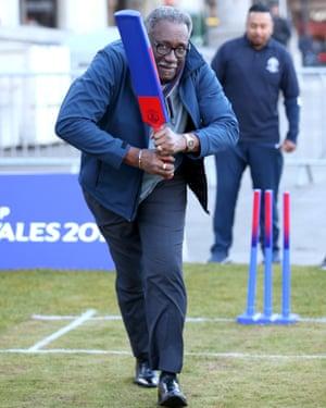 Veteran cricket great Clive Lloyd.