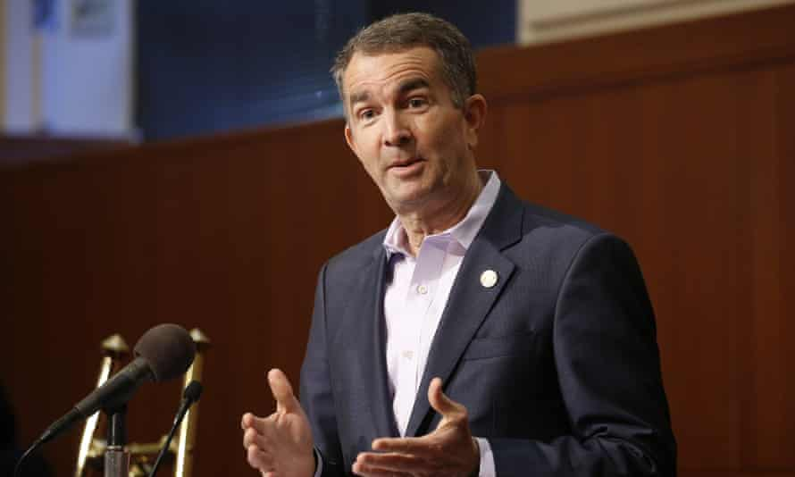 On Saturday, Northam signed the Virginia Values Act, which he said 'sends a strong, clear message – Virginia is a place where all people are welcome to live, work, visit, and raise a family'.