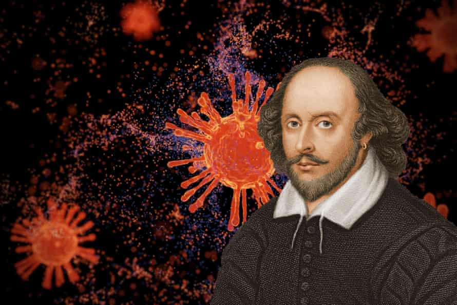 William Shakespeare endured at least five periods of lockdown due to a pandemic
