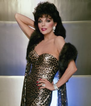 Joan Collins in the 1980s … SS19 inspiration for 16Arlington.